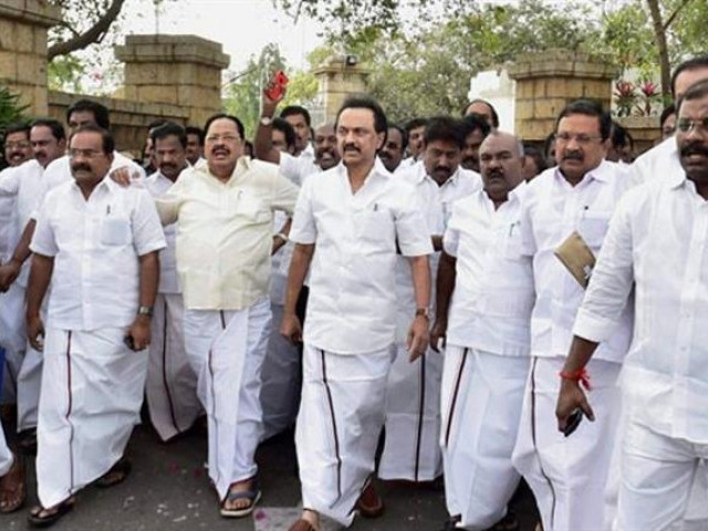 'Murder of democracy': DMK announces hunger strike on February 22 to protest against trust vote