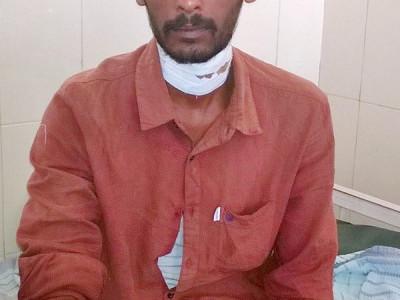 چنتامنی:سسرال والوں کا حملہ داماد شدید طور پر زخمی
