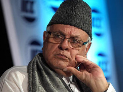 Farooq Abdullah files nomination papers for Srinagar Lok Sabha seat
