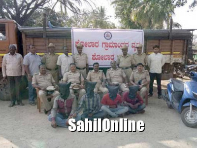 ಕೋಲಾರ: ಹೆದ್ದಾರಿ ಸುಲಿಗೆಕೋರರ ಬಂಧನ