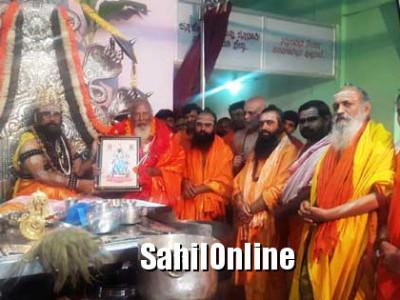 ಬಾಳೆಹೊನ್ನೂರು:ಧಾರ್ಮಿಕ ಮನೋಭಾವನೆ ಬೆಳೆಸುವಲ್ಲಿ ಶಿವಾಚಾರ್ಯರ ಪಾತ್ರ ಹಿರಿದು
