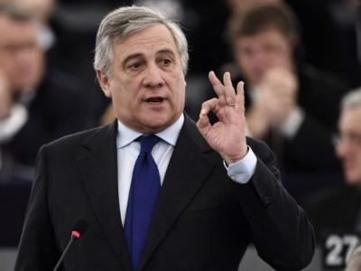 برلسکونی کے حلیف انتونیو تاجانی یورپی پارلیمان کے نئے اسپیکر