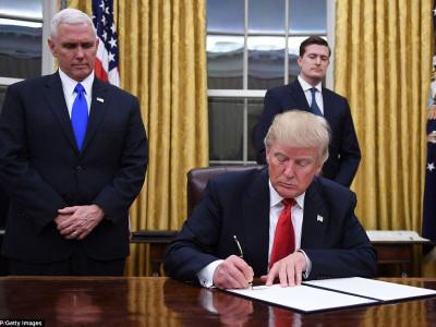 صدر بننے کے بعد ٹرمپ کا پہلا فیصلہ ؟