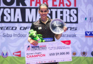 Fit-again Saina lifts Malaysia Masters Grand Prix Gold