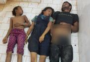 Three, including two children dorwn in Yellapur lake