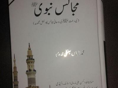 نئی نسل کے لیے ایک بہترین دینی تحفہ مولانا الیاس ندوی کی مجالس نبوی ﷺ