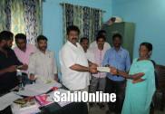 ಭಟ್ಕಳ: ಮುಖ್ಯಮಂತ್ರಿ ಪರಿಹಾರ ನಿಧಿಯಿಂದ ಸಹಾಯಧನ ವಿತರಣೆ