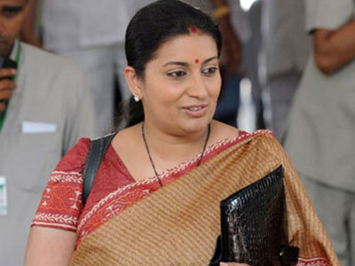 Smriti Irani to again take on Rahul Gandhi from Amethi