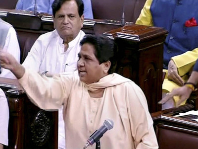 Mayawati no longer Rajya Sabha MP, Vice President accepts resignation