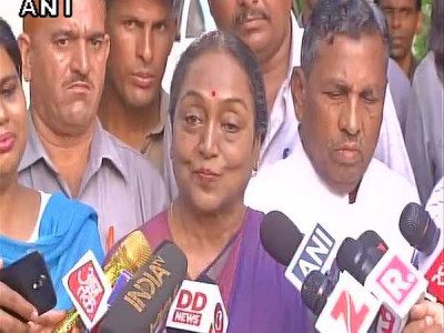 Meira Kumar congratulates Ram Nath Kovind for winning presidential polls