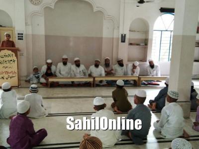 قرآن کی تعلیم مسلمانوں کی اہم ترین ضرورت؛ دارالعلوم اسراریہ سنتوشپورمیں علماء کا خطاب
