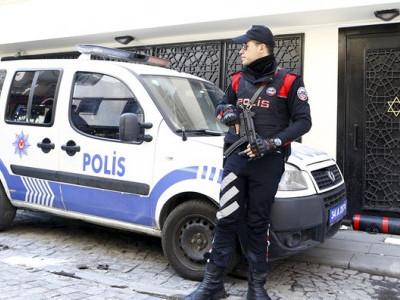 ترکی میں قوم پرستوں کا یہودی عبادت گاہ کے باہر مظاہرہ