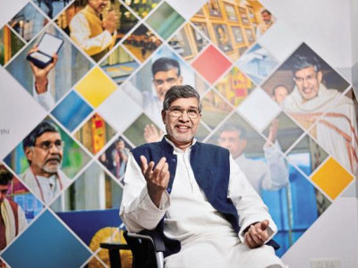 Use technology to solve social problems: Satyarthi