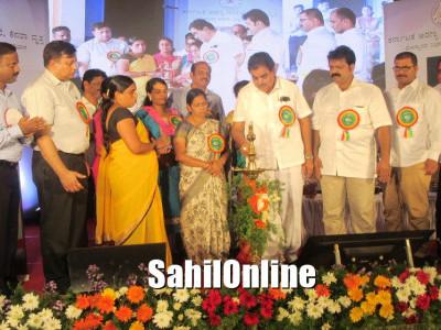 Minister Ramanath Rai inaugurates Thimmakka Tree Park in Bhatkal