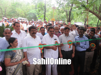 Tree Park and Haadin Eco Beach inaugurated at Bhatkal by Forests and Environment Minister B Ramanath Rai
