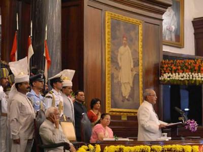 Parliamentarians bid farewell to President Mukherjee