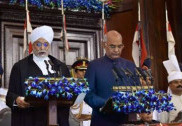 Ram Nath Kovind takes oath as India's 14th President