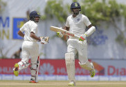India reach 503-7 at lunch on day two