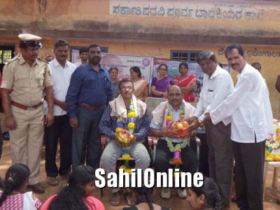 ಶ್ರೀನಿವಾಸಪುರ:ಕಾರ್ಗಿಲ್ ವಿಜಯ್ ದಿವಸ್ ಸಂದರ್ಭದಲ್ಲಿ ನಿವೃತ್ತ ಯೋಧರಿಗೆ ಸನ್ಮಾನ