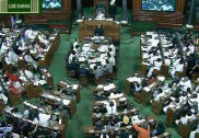 LS proceedings disrupted over Bihar, some other issues