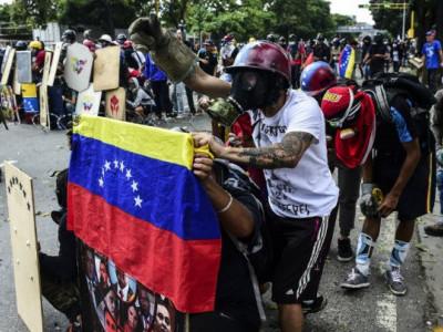 وینزویلا:حکومت مخالف مظاہروں میں ہلاکتیں 100سے تجاوز کر گئیں
