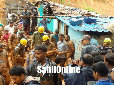 Kumta: 39 Families of landslide-hit Tandrakuli to be shifted