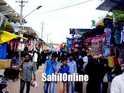 بھٹکل رمضان بازار پر عوام کا ہجوم؛ بھٹکل سمیت پاس پڑوس کے علاقوں کی لوگ بھی خریداری کے لئے اُمڈ پڑے (29 ویں رمضان رات کی وڈیو جھلکیاں)