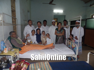 Eid Ul Fitr Celebration: Majlise Islah O Tanzeem distributes Fruits to Patient at Government Hospital, Bhatkal