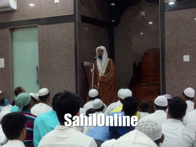 Maulana Abdul Lateef Madni led Eid Ul Fitr Namaz in Imam Bukhari Jumma Masjid Bhatkal