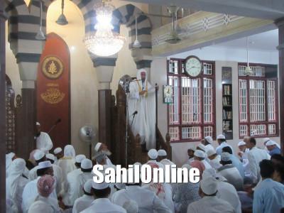 Maulana Niyamatullah Nadvi led Eid Ul Fitr Namaz in Jumma Masjid, Makhdoom Colony, Bhatkal
