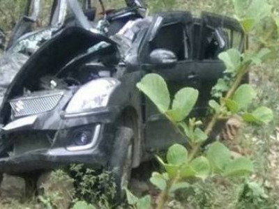 Five killed as jeep falls into gorge in Shimla