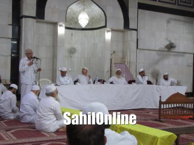 Annual General Meeting of Jamath-Ul-Muslimeen Bhatkal held at Jamia Masjid, Bhatkal