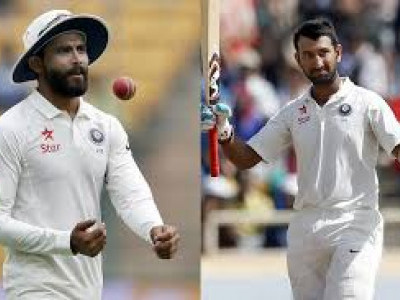 Jadeja grabs top spot in bowling, Pujara 2nd in batting list