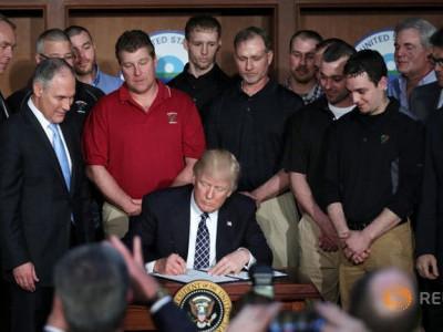 Donald Trump Signs Order Sweeping Away Obama-Era Climate Policies
