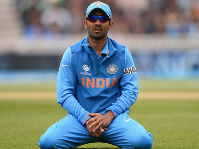 Dinesh Karthik replaces injured Manish Pandey in India's ICC Champions Trophy squad