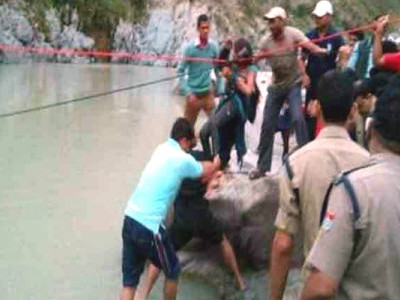 21 killed as bus carrying pilgrims plunges into Bhagirathi river in Uttarakhand