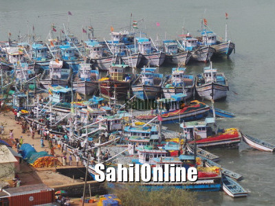 جنوبی کنڑ ضلع کے ساحل پر یکم جون تا 31جولائی مچھلی پکڑنے پر پابندی