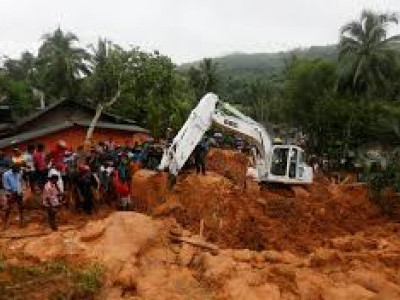 25 killed, 42 missing in rain-triggered mudslides in Sri Lanka