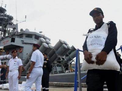 ہندوستان نے سیلاب سے متاثرہ سری لنکا کے لئے امدادی سامان بھیجا