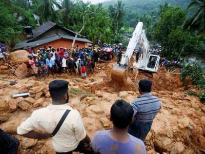 سری لنکا: سیلاب اور مٹی کے تودے گرنے سے 146 ہلاکتیں