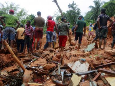 سری لنکا: مٹی کے تودے گرنے سے ہلاکتوں کی تعداد 100 ہوگئی