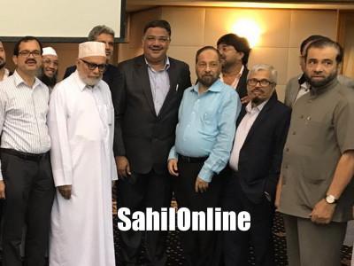 Karnataka education minister Tanveer Sait visits Dubai; receives warm welcome from Coastalites