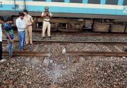ماؤنواز باغیوں نے جھارکھنڈ میں ٹرین کی پٹری اڑائی