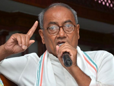 Arrest me if I am anti-national, Digvijay Singh tells Shivraj Singh Chouhan