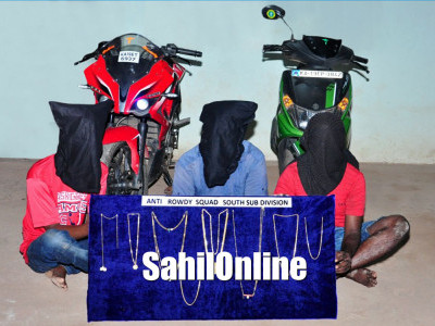Mangaluru: Three chain Snatchers arrested by Anti-rowdy Squad