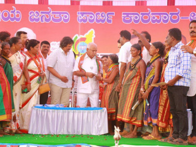 BJP's Parivartan Yatra in Ankola-Karwar constituency