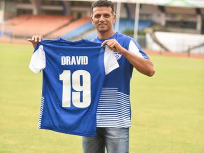 Dravid named Bengaluru FC ambassador