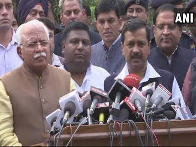 Kejriwal, Khattar resolve to check Delhi pollution