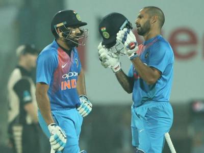 پہلے ٹی ٹوئنٹی میں ہندوستان نے نیوزی لینڈ کو 53 رنز سے شکست دے دی