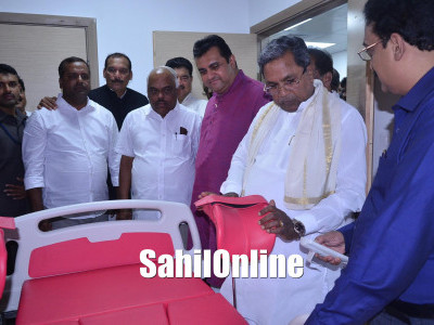 Udupi first open defecation free dist: CM Siddaramaiah